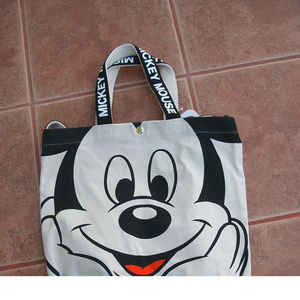 DISNEY JAPAN/MICKEY MOUSE/CANVAS TOTE